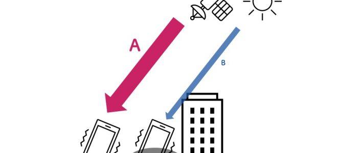 スマートフォンのGPS信号受信強度を用いた紫外線被曝量推定手法